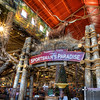 Sportman's Paradise<br /> The most interesting item at the Bass Pro Shop had to be this Texas longhorn standing over the customer entrance.