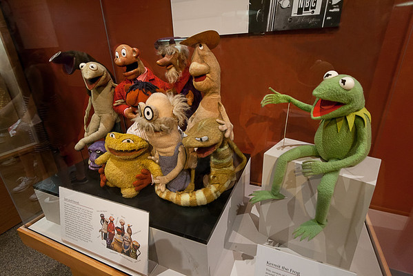 Sam and Friends<br /> Sam and Friends was Jim Henson's first television show, a five-minute show that aired twice daily on WRC-TV, the NBC affiliate in Washington, D.C. The show ran from May 9, 1955 to December 15, 1961. In 2010, these 10 characters joined Kermit at the Smithsonian's National Museum of American History in Washington D.C.
