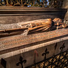 Resting at Notre-Dame<br /> One thing that I didn't realize until touring various cathedrals in London and Paris, is that they are the resting places of some of their countries most famous people. The Cathedral of Notre-Dame de Paris is no exception. The only difference is that no one very famous (by today's standards) is buried there. What you will find are a few tombs and mausoleums of officials of the church, such as bishops and cardinals. Many of France's more famous citizens are interned or buried at the Invalides, the Panthéon and other famous structures. <br /> I'm not sure if this is the tomb of a bishop or cardinal at Notre-Dame, but I'll let you read the inscription on the side for yourself and decide.