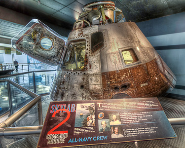 Skylab 2 The Command Module that brought the astronauts home is proudly on display at the National Naval Aviation Museum in Pensacola, Florida.