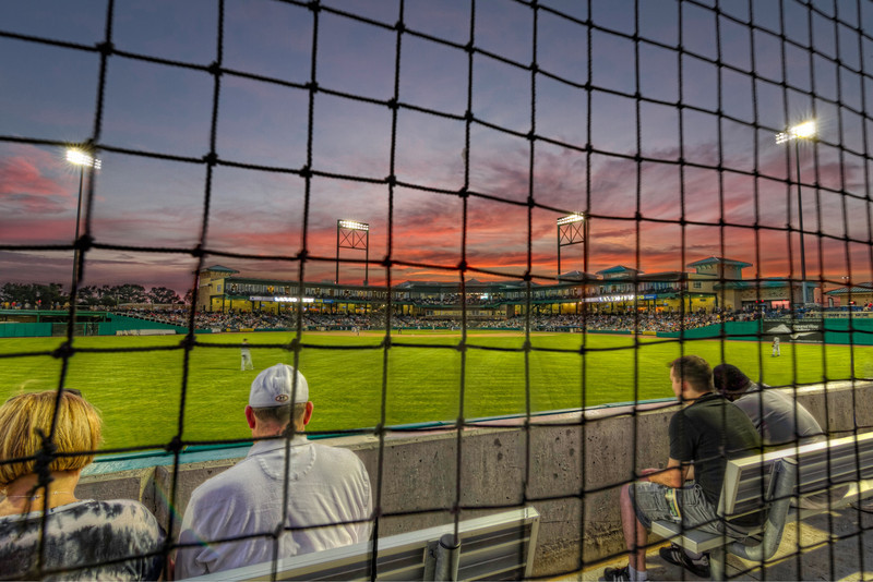 View from the Outfield at Constellation Field