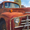 The Old International<br /> This old International L-150 was found at the Sugar Land Farmer's Market, just outside the old Sugar Refinery.