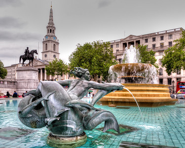 A Walk to Trafalgar Square