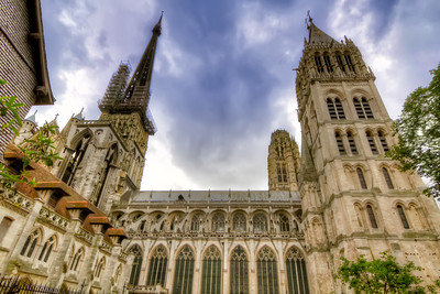The Old Towers of Rouen