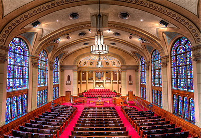 South Main Baptist from the Balcony