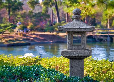 The Japanese Garden at Hermann Park
