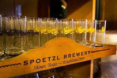 Spoetzl Brewery glasses