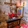 Mission Concepción Kneeler and Crucifix