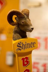 Shiner Beer Tap Handle
