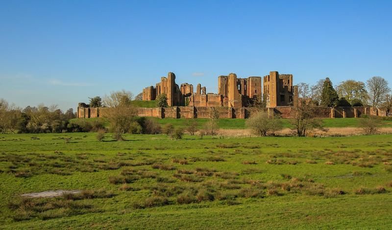 Kenilworth Castle - Warwickshire (April 2016)