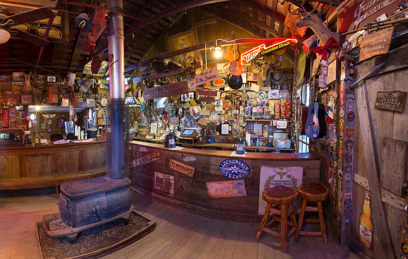 "The back room of the Luckenbach ""Post Office"" and General Store. Photo by Tim Stanley Photography."