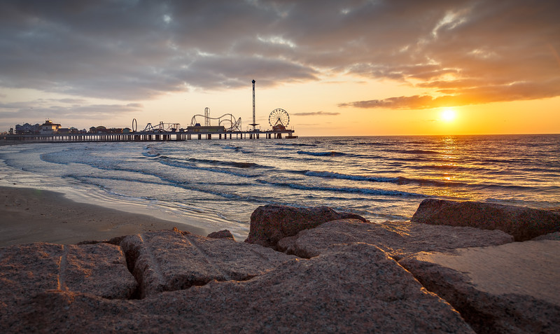 Pleasure Pier Sunrise