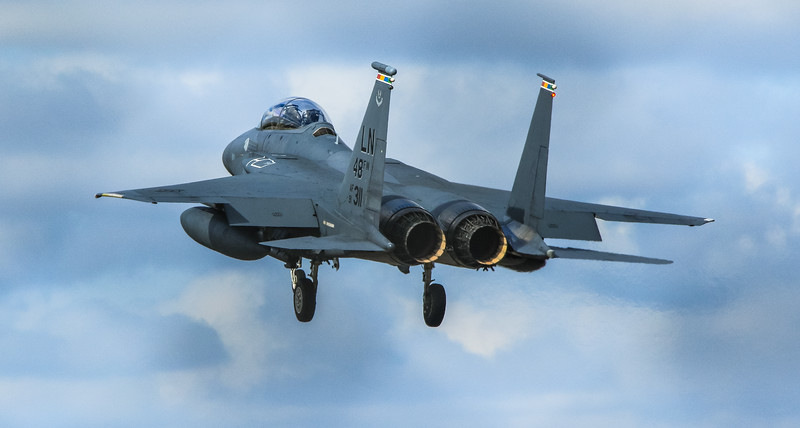 F15-E Strike Eagle - 48FW - LN 48FW AF 91-0311 - RAF Lakenheath (April 2016)