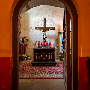 Mission Concepción Doorway