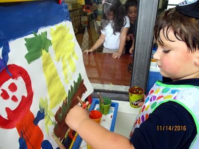 Kindergarten Painting