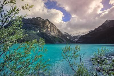 Water of Lake Louise