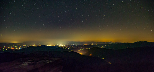 Smoky Mountain Night