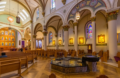Cathedral Basilica of St. Francis of Assisi interior