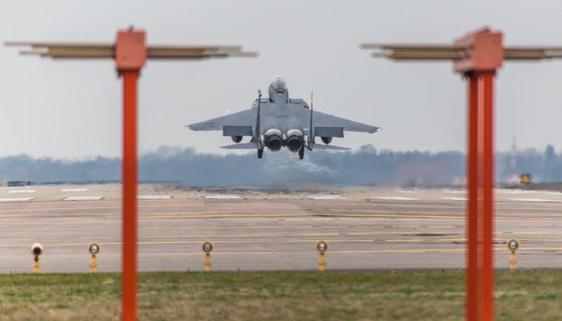 F15-E Strike Eagle - 48FW - 494FS - LN AF 01-2004 - RAF Lakenheath (March 2019)