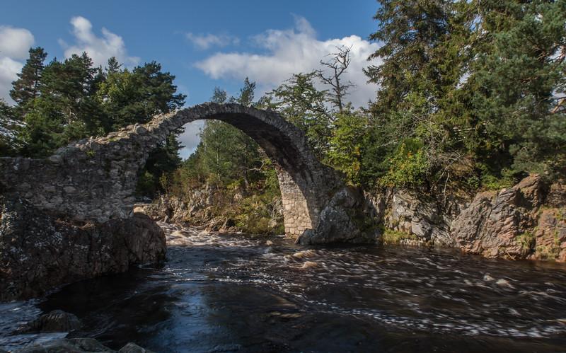 Packhorse Bridge - Carrbridge - Highlands, Scotland (September 2019)