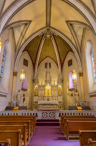 Lorreto Chapel interior