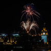 Edinburgh Tattoo Fireworks - Edinburgh Castle - From Calton Hill (August 2019)