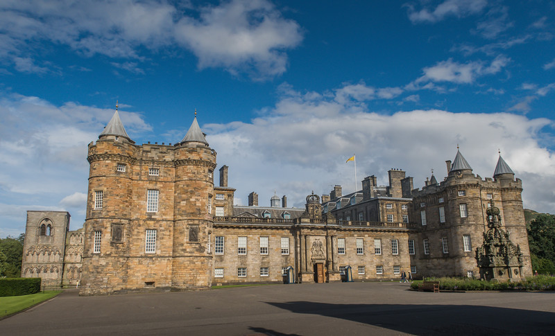 Palace of Holyroodhouse - Edinburgh - Lothian - Scotland (August 2019)