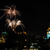 Edinburgh Tattoo - Fireworks - Edinburgh Castle - From Calton Hill (August 2019)