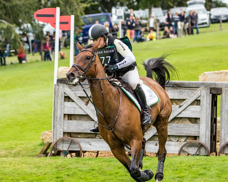 Winner - 77 MGH GRAFTON STREET - Pippa Funnell - Burghley Horse Trials (September 2019)