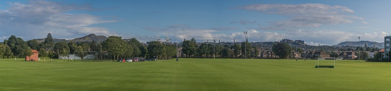 Edinburgh from Ferry Road - Lothian - Scotland (August 2019)