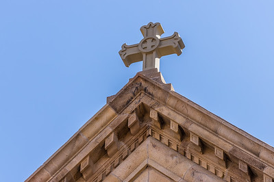 Cathedral Basilica of St. Francis of Assisi Cross