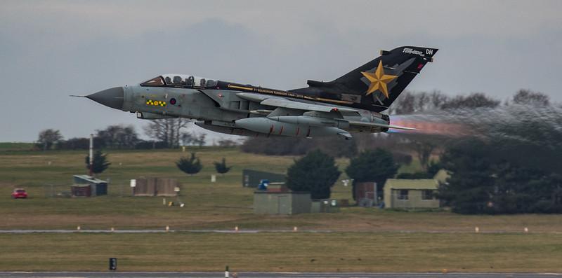 """Tornado - RAF - ZD716 DH 31 Sqn """"Goldstar"""" - RAF Marham (February 2019)"""