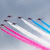 RAF Red Arrows - Hawk T1 - Flypast - Ragley Hall (June 2021)