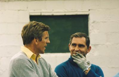 Bergur Guðnason og Gunnar Sólnes.