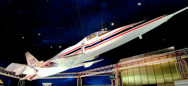 Grumman X-29<br /> As strange as it is, the X-29 is one of the coolest planes I've ever seen. There were only two made for NASA as test vehicles and logged 436 flights.