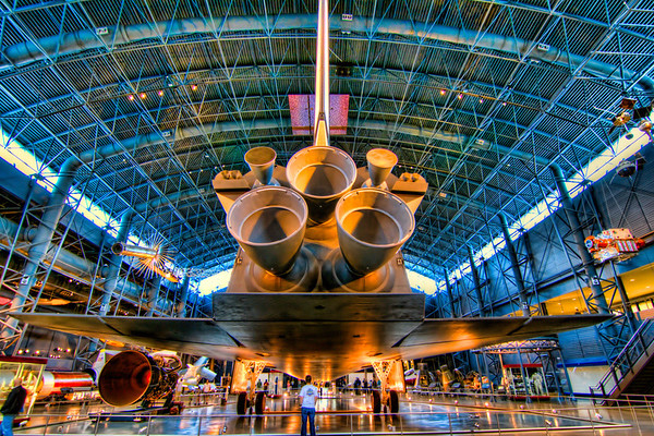 Enterprise<br /> Seeing the Enterprise at the National Air and Space Museum at the Udvar-Hazy Center was a real treat.