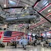 The National Naval Aviation Museum in Pensacola, Florida has a new building behind the main complex called Hanger Bay One. This new attraction includes several historic airplanes, as well as many of the former work horses of military aviation.