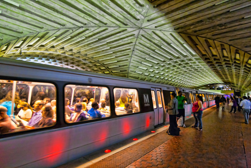 When I think of subways, I think New York City. Imagine my surprise when I discovered that Washington D.C. had a full underground subway system. Photo by Tim Stanley Photography.