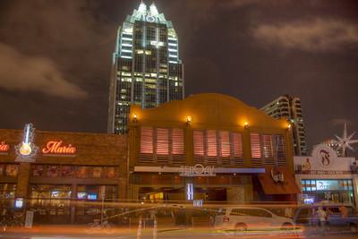 Night scene in Austin