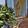 Peace Be With Thee<br /> I'm not Catholic, so I know very little of Saint Francis of Assisi, but I found this quiet little cove in the paths around the restaurant, Vargos, in west Houston.