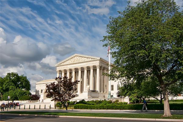 Supreme Court<br /> Supreme Court building in Washington D.C.