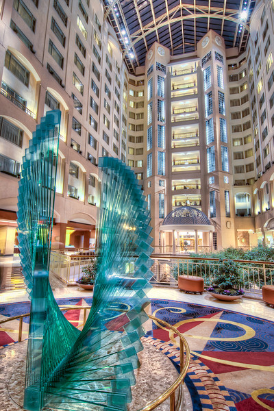 When we visited Washington D.C., we were fortunate to stay at the Grand Hyatt Hotel, just blocks from all of the attractions.