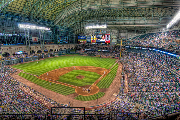Minute Maid Park<br /> I started attending games in the Astrodome and felt like I was cheating on an old friend the first time I attended a game at Minute Maid Park.