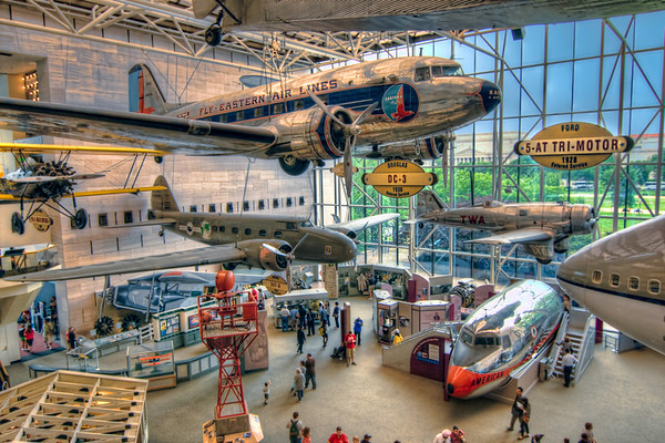 Come Fly with Me<br /> Visiting the Air and Space Museum in Washington D.C. is like a sports fan going to the Baseball Hall of Fame, but better. These are the machines that propelled our country through the last century and made our world a smaller place.