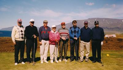 Formenn Golfklúbbs Reykjavíkur.