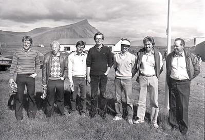 Ragnar Ólafsson GR, Sigurður Helgi Hafsteinsson GR, Gylfi Garðarsson GV, Björgvin Þorsteinsson GA, Hannes Eyvindsson GR, Sigurður Pétursson GR, Sigurður Albertsson GS.