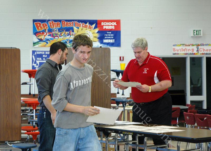 Wrestling Middle School Awards<br /> 2007