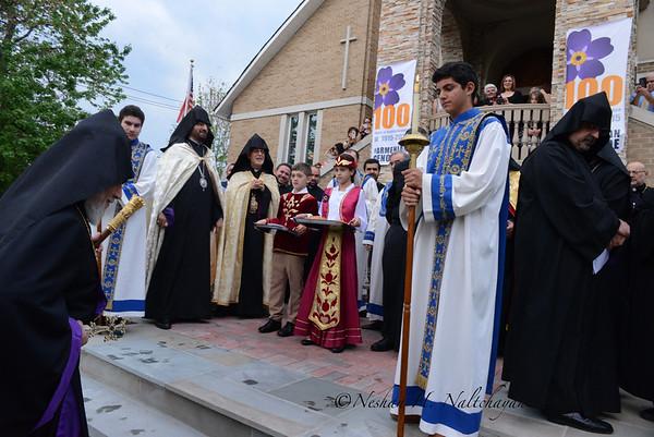 Vehapar visit to St. Mary 2015