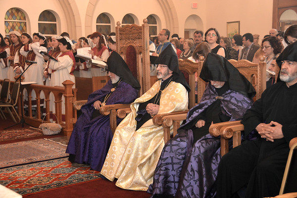 Vehapar's visit to St. Mary 2015