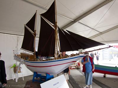 """Traditional Malaysian sailing boat, """"Perahu Pinis"""""""
